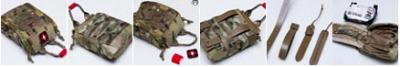 ITS Tactical ETA Trauma Kit Pouch Fatboy