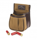 Canvas & Leather Trap & Skeet Pouch