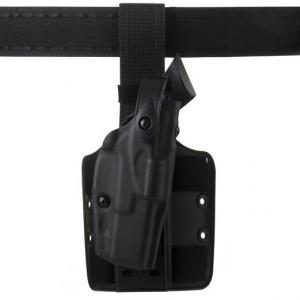 Drop-Rig Tactical Holster with ALS and SLS, STX Tactical Finish