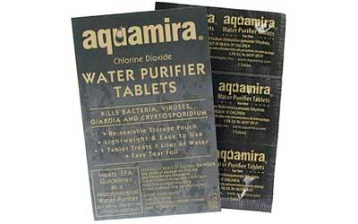 AQUAM WATER PURIFIER TABLETS 10PK