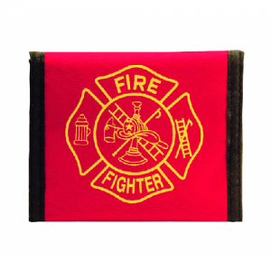 Fire Nylon Wallet