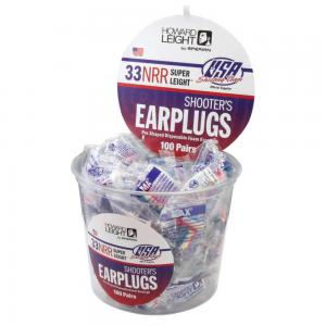 USA Colors Shooter Earplugs NRR 33