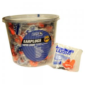 Super Leight Uncorded Disposable Earplugs NRR 33