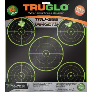 Tru-See Splatter Target 5-Bullseye