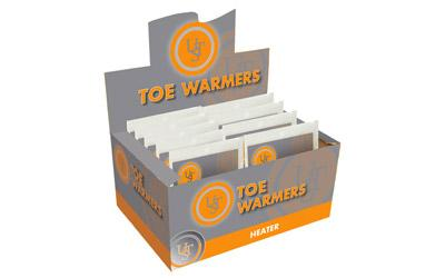 Heat-Up Toe Warmers 40 Pair PDQ