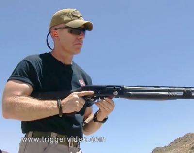 Kyber Tactical Reloading a Shotgun with a Side Saddle Shell Carrier